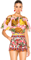 Dolce & Gabbana Off the Shoulder Blouse