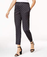 Vince Camuto Dot-Print Pull-On Pants