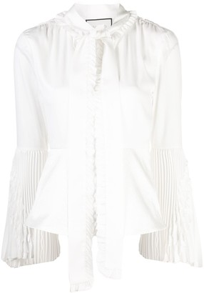 Alexis Sorrenta pussy bow blouse