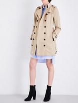 Burberry Sandringham cotton trench coat