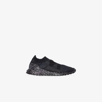adidas X HYKE black Ultraboost strap sneakers