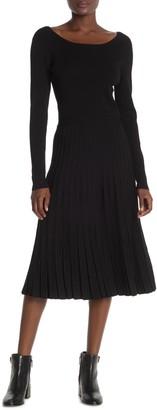Tory Burch Florence Knit Midi Dress