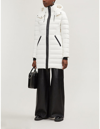 Mackage Farren quilted stretch shell-down jacket