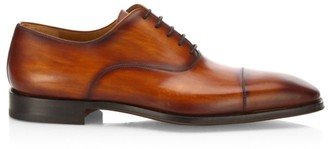 Saks Fifth Avenue BY MAGNANNI Cap Toe Calf Leather Oxfords