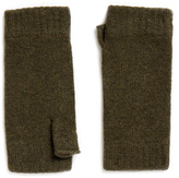 Johnstons of Elgin Loden Cashmere Wristwarmer Gloves
