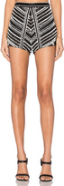 Karina Grimaldi Siesta Beaded Shorts