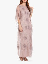 Adrianna Papell Beaded Kaftan Dress, Cameo
