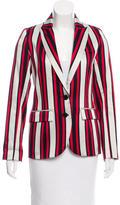 Smythe Striped Fitted Blazer w/ Tags