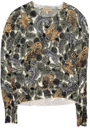 Burberry Khaki Cotton Knitwear for Women