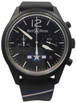Bell & Ross Airforce Carbon BR126-94-SC-18224 Stainless Steel PVD Automatic 41mm Mens Watch