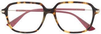 Christian Dior Square Frame Glasses