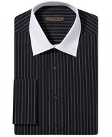 Donald Trump Donald J. Dress Shirt, No-Iron Stripe French Cuff