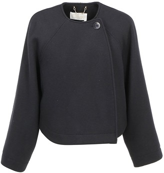 Chloé Single Button Cropped Jacket