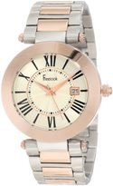 Freelook Women's HA1537RGM-2 Silver-Rose Gold Dial Watch