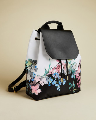 Ted Baker DEVIEE Pergola nylon drawstring backpack