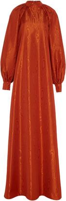 Christian Siriano Balloon Sleeve Gown