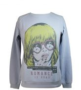 "Zoe Karssen ""romance Is Dead"" Morning Blue Sweatshirt"