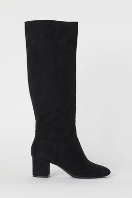 H&M Tall Boots - Black