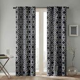 Intelligent Design Maci 63-Inch Grommet Top Window Curtain Panel in Black