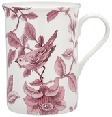 John Lewis Country Archive Nightingale Mug, Red