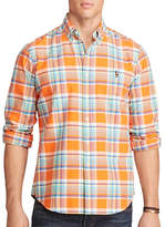 Polo Ralph Lauren Big and Tall Plaid Oxford Shirt