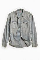 Levi's Grey Denim Western Shirt