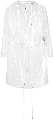 Moncler Transparent Drawstring Raincoat