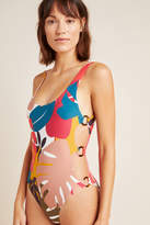 Red Carter Charlie One-Piece Swimsuit