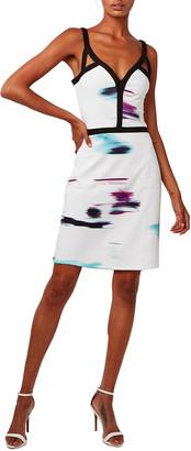 Astars Fast Lane Printed Jersey Dress