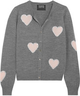 Markus Lupfer April embellished merino wool cardigan