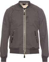 Burberry Zip-front bomber jacket