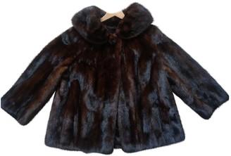 Harrods Brown Mink Coat for Women Vintage