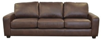 Westland and Birch Hanson Leather Sofa Upholstery Color: Brompton Brown