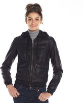 Faux Leather Bomber Jackets Womens - ShopStyle