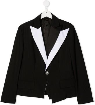 Balmain Kids TEEN tailored pinstripe blazer