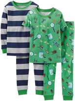 Carter's 4 Piece PJ Set (Baby) - Cute Like Mommy-6 Months