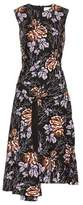 Victoria Beckham Printed cotton dress