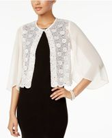 Connected Sequined Lace Jacket
