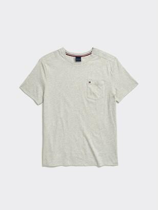Tommy Hilfiger Heathered Pocket T-Shirt