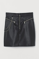 H&M Skirt with a metal chain
