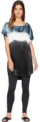 Hard Tail Short Sleeve Slip Tunic (Crystal Dip-Dye 1) Women's Dress