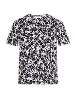 Balenciaga Mechanical-print T-shirt