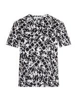 Balenciaga Mechanical-print T-shirt