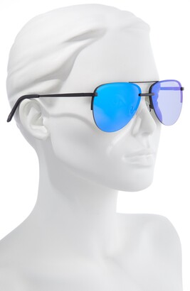 Quay x Maluma The Playa 56mm Aviator Sunglasses