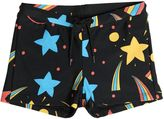 Mini Rodini Space Printed Lycra Swimming Shorts