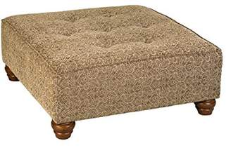 Leffler Home The Elegant Hixon Square Upholstered Ottoman Coffee Tables