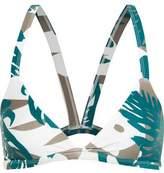 Mikoh Honolulu Cutout Triangle Bikini Top