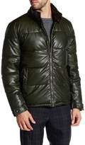 Kenneth Cole New York Quilted Faux Leather Hipster Jacket