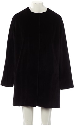 The Row Black Mink Coat for Women