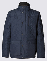 Blue Harbour Quilted Jacket With Stormweartm